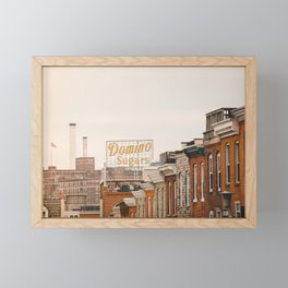 Domino Sugar - Baltimore Framed Mini Art Print