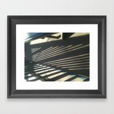 Angles Framed Art Print