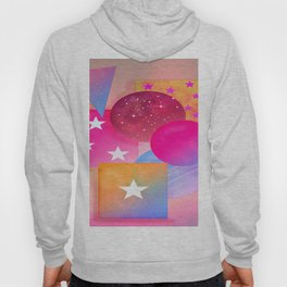 Free Forms with Stars Hoody
