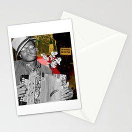 the new negro has no fear Stationery Cards