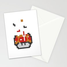 Super Mario Mushroom Tetris Stationery Cards