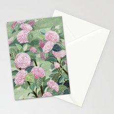 Pink florals Stationery Cards