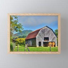Rural Barn Framed Mini Art Print
