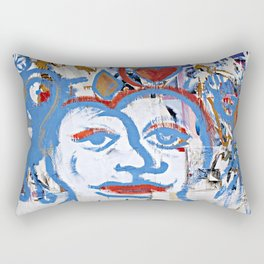 In the Here and Now Rectangular Pillow