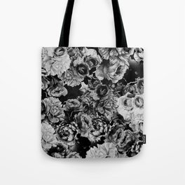 Black Roses Tote Bag