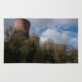Cooling Towers Of Ironbridge Rug