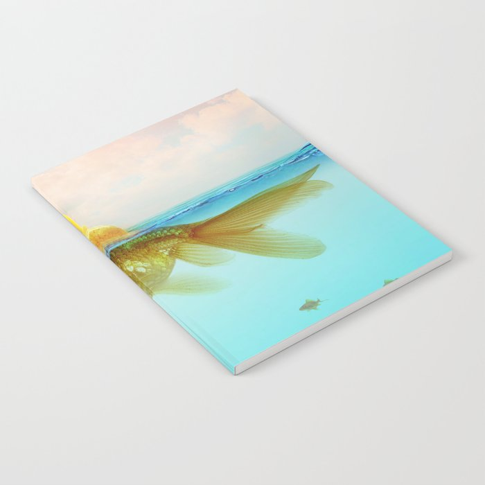 Submarine Goldfish Notebook