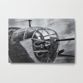 B-25 Nose Guns Metal Print