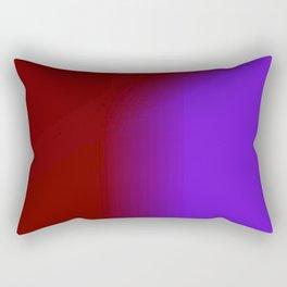 Ombre in Burgundy Purple Rectangular Pillow