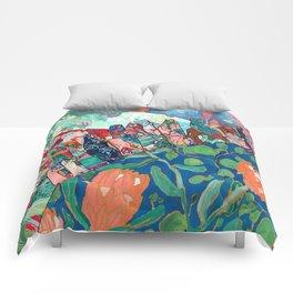 Floral Migrant Quilt Comforters