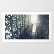 Zelda Cathedral Art Print