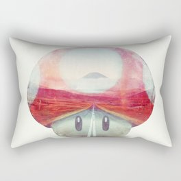 Mushroom - Kart Art Rectangular Pillow