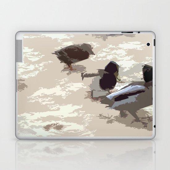 Ducks Laptop & iPad Skin