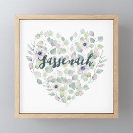 SASSENACH HEART Framed Mini Art Print
