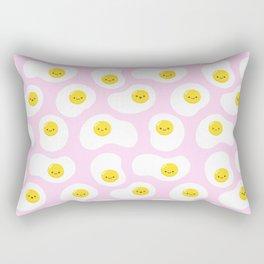 Cute Fried Eggs Pattern Rectangular Pillow