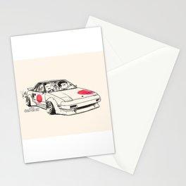 Crazy Car Art 0161 Stationery Cards