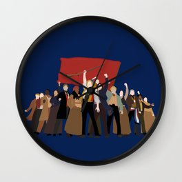 Les Mis - One Day More Wall Clock