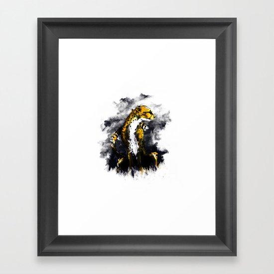 The Cheetah Framed Art Print