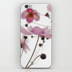 Pink Wild Flowers iPhone & iPod Skin