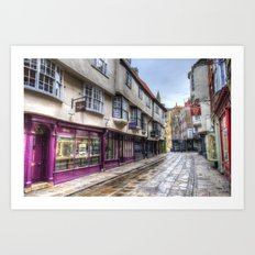 The Shambles York Art Print