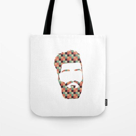 Hipster beard Tote Bag