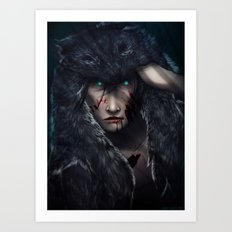 In Wolves' Clothing Art Print