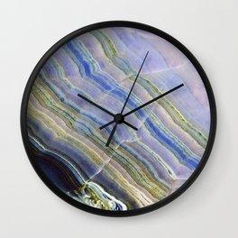 Pastel Onyx Marble II Wall Clock