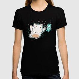 Nevermind Cat T-shirt