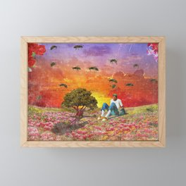 The Creator - Flower Boy Framed Mini Art Print