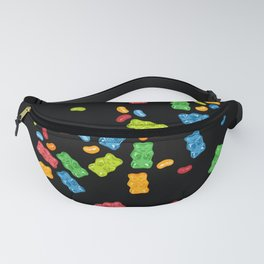 Jelly Beans & Gummy Bears Explosion Fanny Pack