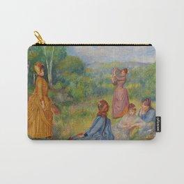 """Auguste Renoir """"Jeunes filles jouant au volant"""" Carry-All Pouch"""