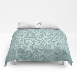 Beautiful Elegant Damask Pattern Comforters