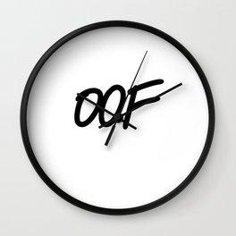 OOF Wall Clock