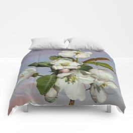 Spade's Apple Blossoms Comforters