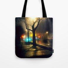 Nebula Tree Tote Bag