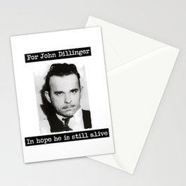 Dillinger Stationery Cards