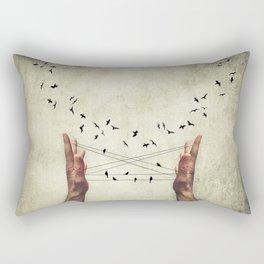 lure Rectangular Pillow