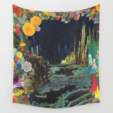 Cave Garden II Wall Tapestry