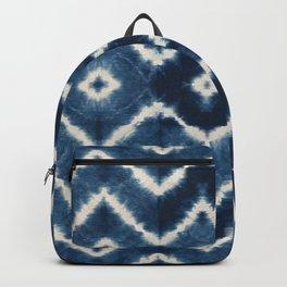 Shibori, tie dye, chevron print Backpack