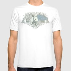 Fearless Creature: Rabz White MEDIUM Mens Fitted Tee