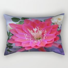 Roses Are White, Cactus is Rose... Rectangular Pillow