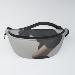 Girl looking through the picture frame Fanny Pack