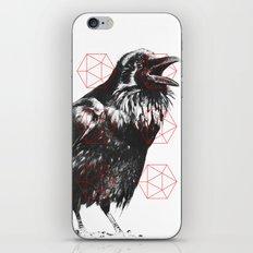 Sacred Raven iPhone & iPod Skin