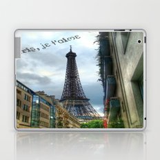 paris, je t'aime Laptop & iPad Skin