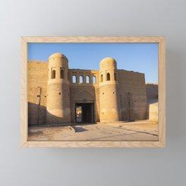 South Gate of Khiva - Uzbekistan Framed Mini Art Print