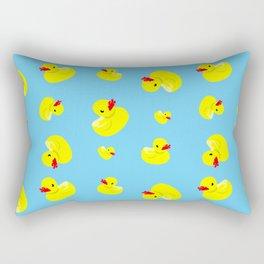 Rubber Duck Pattern Rectangular Pillow