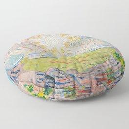 "Edvard Munch ""The Sun"", 1910–11 Floor Pillow"
