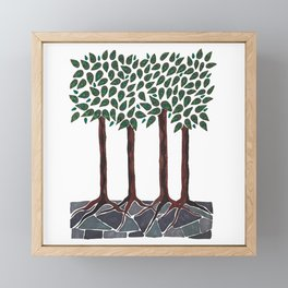 A Walk in the Woods Framed Mini Art Print
