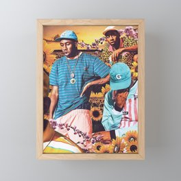 Tyler, The Creator - Flower Boy V2 Framed Mini Art Print