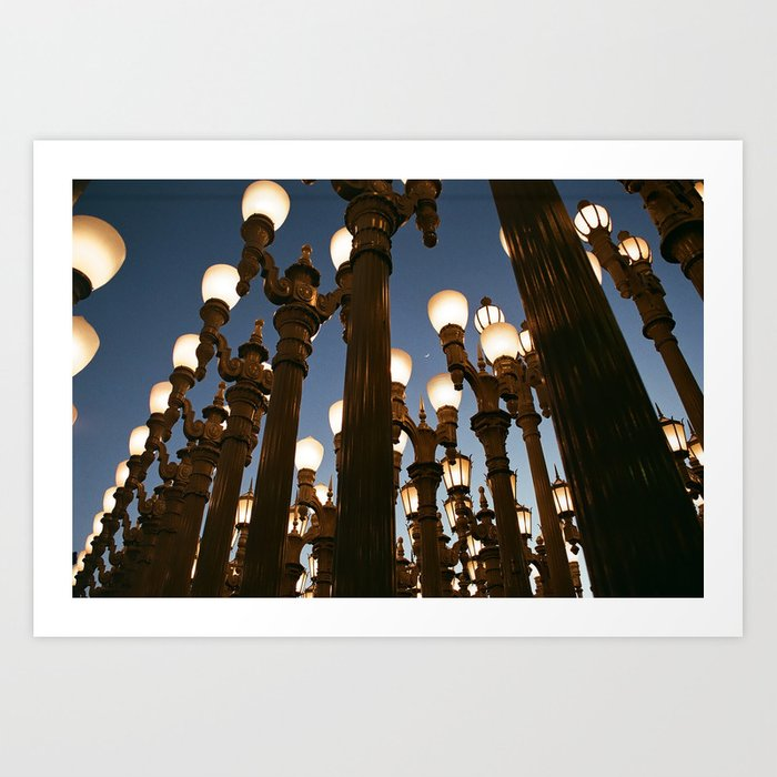Urban Light Art Print